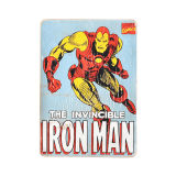 Дерев'яний постер «Iron Man #2 comic»