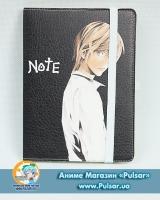 Скетчбук з обкладинкою з Еко Шкіри «Death Note» tape 01