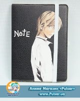 Скетчбук с обложкой из Эко Кожи «Death Note» tape 01