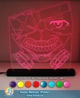 Великий діодний акриловий світильник «Tokyo Ghoul»