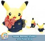 """М`яка Аніме іграшка """" Pikachu smile""""Pokemon довжина 20 см модель CIVIL"""