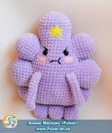 "М`яка іграшка ""Amigurumi"" LSP (Lumpy Space Princess)"