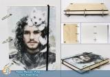 Скетчбук (sketchbook) Game of thrones - Jon Snow