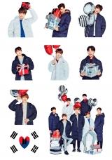 Стикеры BTS Tape 09