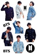 Стикеры BTS Tape 10