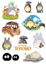 Стикеры Ghibli Tape 02