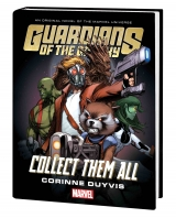 Книга на английском языке Guardians Of Galaxy Collect Them All Prose Novel HC