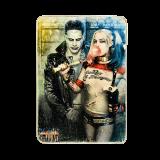 Деревянный постер «Suicide Squad. Harley Quinn & Joker»