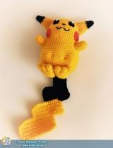 """М`яка іграшка Amigurumi """"Пікачу"""" (Ручна Робота)"""