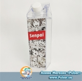 "Пляшка ""Milk Bottle"" Ahegao Senpai  варіант 1"