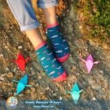 Дизайнерські шкарпетки Dino Origami