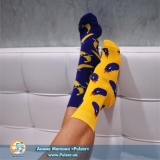 Дизайнерські шкарпетки Eggplant