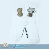 Дизайнерские носки Raccoon and Groot