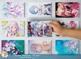 Набір листівок А5 «Re: Zero. Життя з нуля в альтернативному світі»10 шт