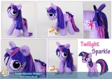 "М`яка іграшка ""Amigurumi"" My Little Pony Friendship is Magic - Twilight Sparkle"