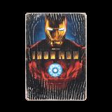 Дерев'яний постер «Iron Man #1»