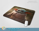 Великий килимок для міші А3 (297mm x 420mm) - «Mandalorian - Yoda Child» tape 2
