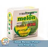 Жувальна гумка Marukawa BUBBLE GUM MELON FLAVOR зі смаком дині 5,4 гр., (4 кульки по 1,35 гр.)