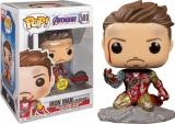 Виниловая фигурка  Funko Pop! Avengers Endgame: I Am Iron Man Glow-in-The-Dark Deluxe Vinyl Figure
