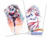 Тетрадь в клеточку ( Miku Love Swirl / (Vocaloid ) 36 листов