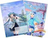 Тетрадь в клеточку ( Miku Nature / (Vocaloid ) 36 листов