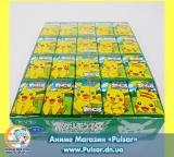 Жевательная резинка Top confectionery Pokemon gum Green Apple