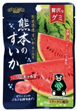 Конфеты со вкусом арбуза Gummy Association Senjaku Amehonpo
