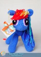 "М`яка іграшка ""Amigurumi"" My Little Pony Friendship is Magic - Rainbow Dash"