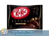 """Шоколадный батончик """"Kitkat"""" Черный шоколад  (Япония)"""