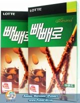Pepero original chocolate - Almond (Миндаль) ( Korea )