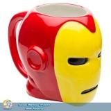 Фірмова скульптурна чашка Marvel Coffee Mugs - Sculpted Iron Man