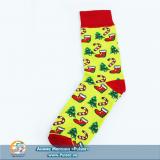 Дизайнерские носки New Year tape 2