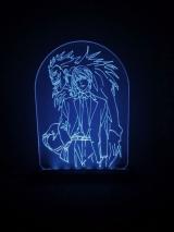 Доданий Акриловий світильник «Hunter x Hunter»Діодий акриловий світильник «Зошит смерті» [Death note] tape 1