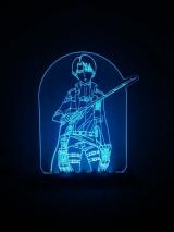 Діодний Акриловий світильник Shingeki no Kyojin - tape 2