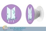 Попсокет (popsocket) корейская группа BTS лого группы вариант 16