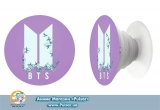 Попсокет (popsocket) корейська група BTS логотип  варіант 16