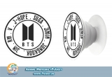 Попсокет (popsocket) корейская группа BTS лого группы вариант 19