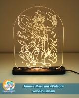 Діодний акриловий світильник «Сім Смертних Гріхів / Nanatsu no Taizai»