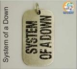 """Кулон музыкальной группы System of a Down модель """"SOAD"""""""