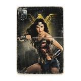 Деревянный постер «JL Wonder woman»