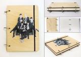 Скетчбук ( sketchbook) BTS tape 3