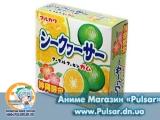 Жувальна гумка Marukawa Marble bubble gum зі смаком лайма 5,4 гр., (4 кульки по 1,35 гр.)