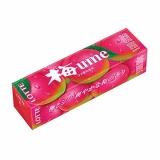 Жвачка Lotte Plum gum 9 пластинок