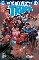 Комикс на русском языке «Вселенная DC. Rebirth. Титаны #6-7; Красный Колпак и Изгои #3»