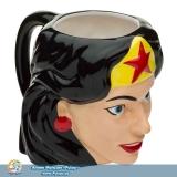 Фірмова скульптурна чашка Wonder Woman Sculpted Coffee Mug